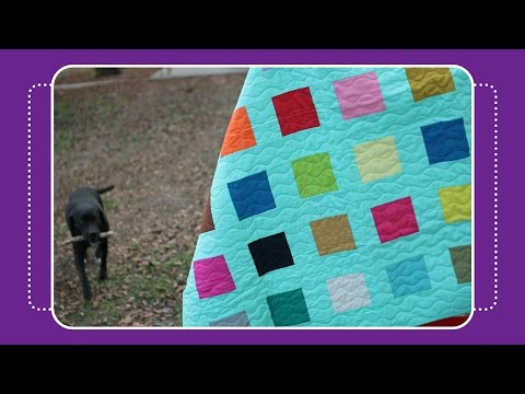 Confetti Charm Quilt Tutorial by Crafty Gemini