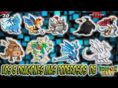 Los 5 Dragones mas Poderosos de Dragon City 2015
