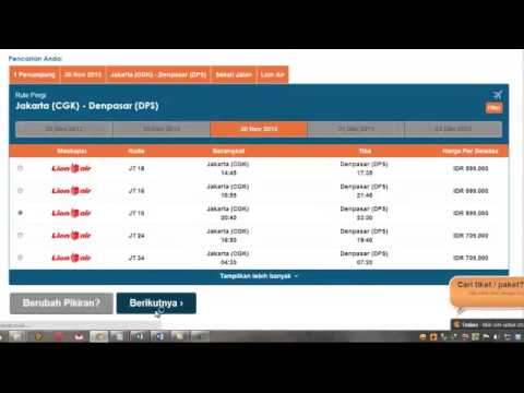 Cara Booking Pesawat Garuda Sriwijaya Lion Citilink