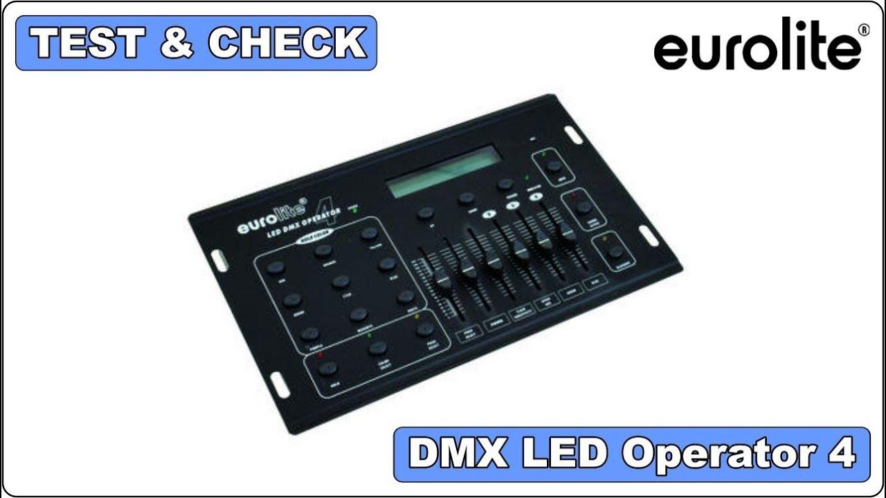 Eurolite Dmx Operator Dmx Инструкция
