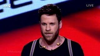 Άκης Παναγιωτίδης - Come together / Lose yourself   The Voice of Greece - 5th Live Show (S02E17)