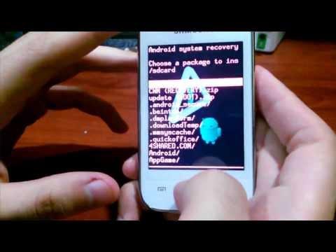 ROOT. UNROOT y Recovery: Cualquier Samsung Galaxy Y o Young. Explicado. Facil. Español / JHET