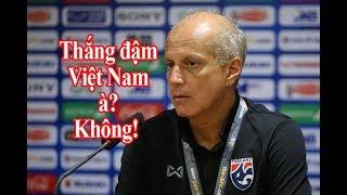 HLV U23 Thái Lan dạy cho Indonesia 1 BÀI HỌC, không dám nghĩ thắng ĐẬM Việt Nam