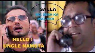 Paresh Rawal Funny Reaction on Honey Singh Phone Call