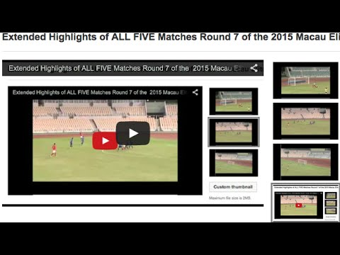 Extended Highlights of ALL FIVE Matches Round 7 of the  2015 Macau Elite League