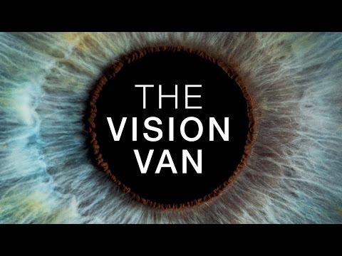 The Vision Van - National Eye Health Week