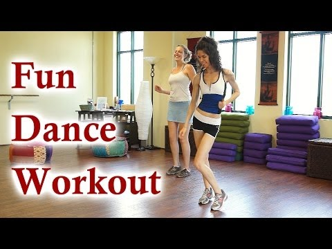 Fun Dance Workout! 12 Minute At Home Cardio Music Routine For Weight Loss | Beginners Fitness video