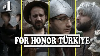 YOUTUBERLAR KILIÇ SAVAŞINDA! | For Honor 1 vs 1  - Bölüm 1