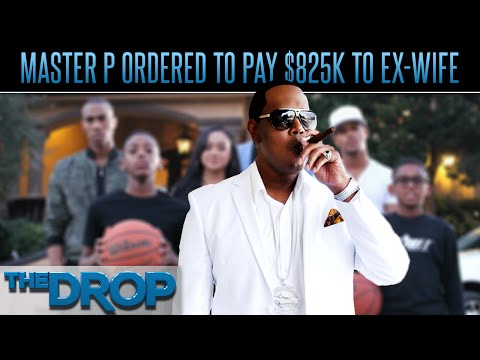 Master P's Estranged Wife Sucking Him Dry - The Drop Presented by ADD