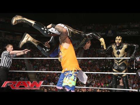 The Usos vs. Goldust & Stardust: Raw, Aug. 18, 2014