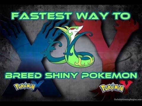 Fastest Way To Breed Shiny Pokemon (Pokemon X and Pokemon Y) Updated