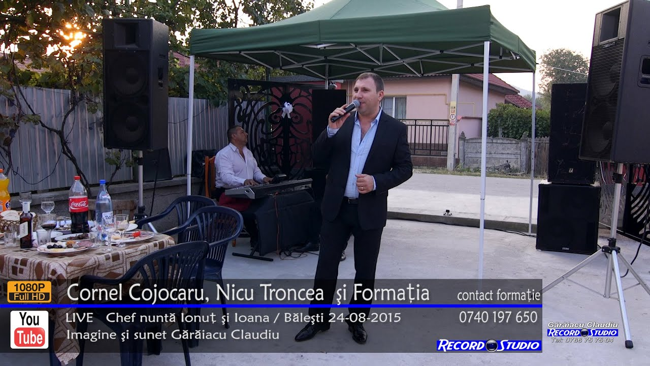 ♫ Cornel Cojocaru si Nicu Troncea - Mi-a trecut viata muncind LIVE Nunta Ionut & Ioana 24-08-2015