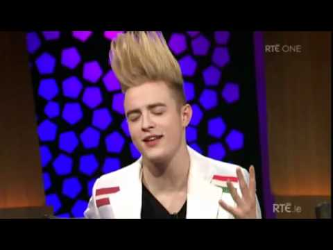 Jedward the Late Late Show Interview and Waterline performance