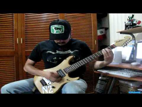 Monkey business - Skid Row guitar Husky