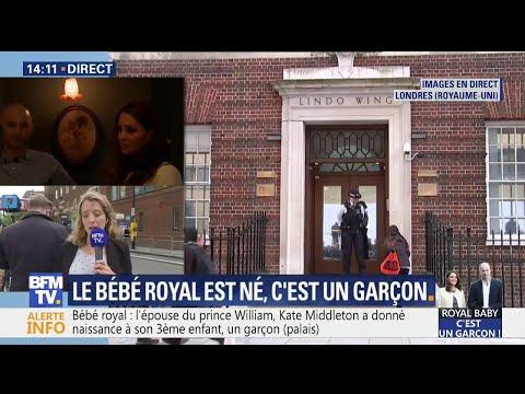 Bébé royal : Kate Middleton a donné naissance à un petit garçon