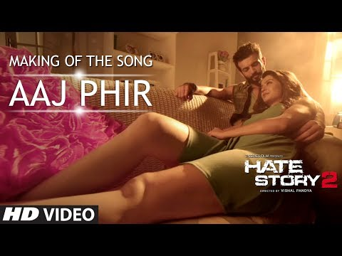 Making Of Aaj Phir | Hate Story 2 | Jay Bhanushali | Surveen Chawla video