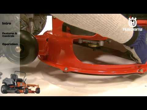 Husqvarna RZ-series Zero Turn Mowers: Maintenance