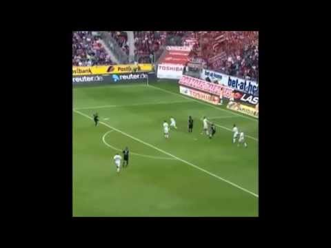 Amazing volley from Franck Ribery
