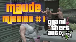 "GTA 5 - Maude Bail Jumper Mission #1 ""Ralph Ostrowski"" Location (Quarry)"