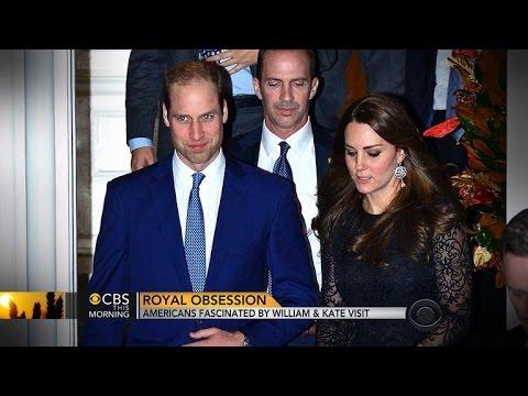 Duke and Duchess of Cambridge attract royal watchers