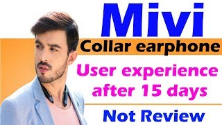 Mivi collar headphone user experience after 15 days | Not just review ||