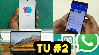 MI Note 7S Sale | WhatsApp Status Ads | Oneplus 6 & 6T Update | Macbook Pro 8th Gen Launched | TU#2