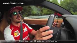 Intervista ad Alonso al Nordschleife