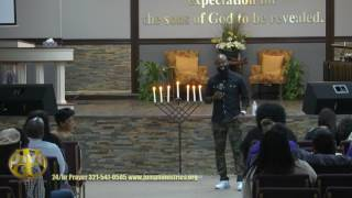 Marcus D. Wiley (Comedian) @ J.M.G.C. 170707f