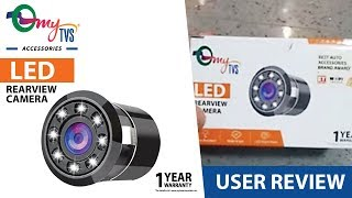 my TVS Accessories LED Rearview Camera Review