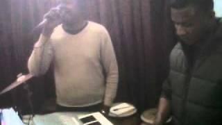 Martin playing Denis Ngonde 3GP on Keyboard