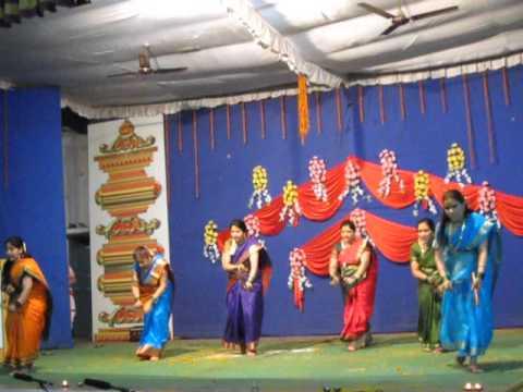 Gondhal performance at Maharashtra Mandal Raipur 13 April 2013...
