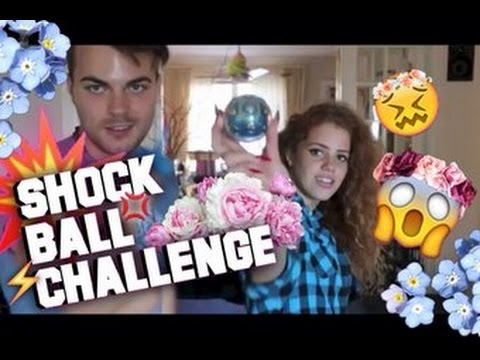 SHOCK BALL CHALLENGE WITH GOLDEN
