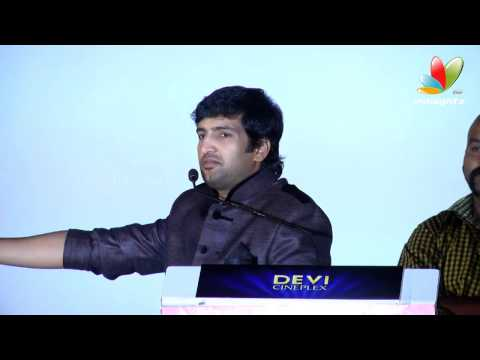 Santhanam speech at Vallavanukku Pullum Aayudham Audio Launch
