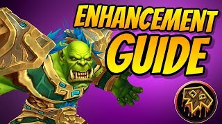 Enhancement Shaman PvE Guide 8.0.1 | Talents & Rotation | World of Warcraft Battle for Azeroth