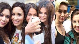 Selena Gomez, Miley Cyrus, Demi Lovato -- Which Disney Star Treat Their Fans Better?
