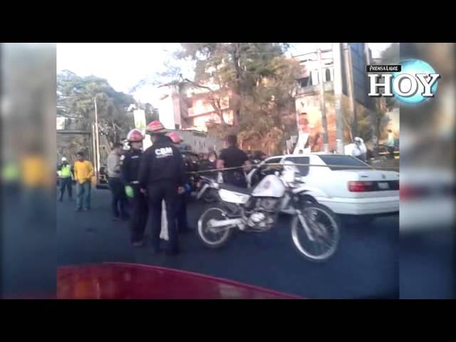 Taxista muere por ataque de presunto niño sicario