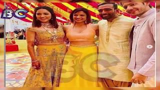 Neeti Mohan Nihar Pandya Pre Wedding Celebration pics tell FAIRY TALE