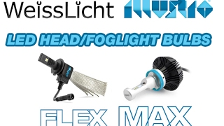 WeissLicht Illustro LED Headlight/Fog Light Bulbs