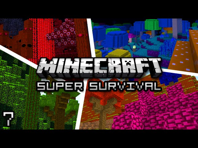 Minecraft: Super Modded Survival Ep. 7 - VILLAGE IN THE SKY