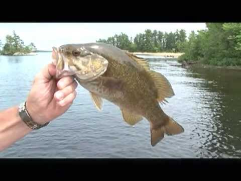 Bass Fishing at Crane Lake, MN