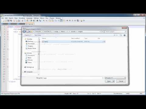 PHP Tutorials: Register & Login (Part 5): User Login (Part 1)