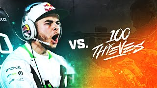 WAGER MATCH VS. MY OWN TEAM! (NADESHOT VS. 100 THIEVES)