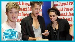 The Vamps Jenga Challenge - Heat Challenge Tuesdays