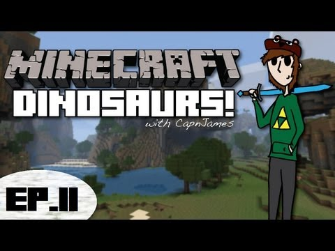 Minecraft Dinosaurs - Fossils and Archeology Mod - Episode 11