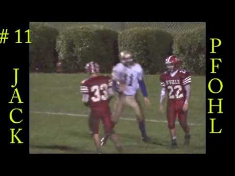 Jack Pfohl #10 Christian Brothers Academy, Syracuse - Wide Receiver, Defensive Back