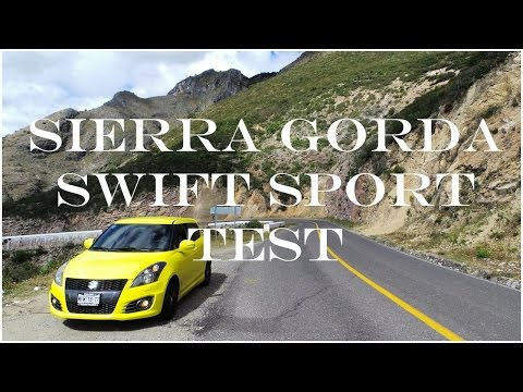 Suzuki Swift Sport Test @ Sierra Gorda on Winding Road