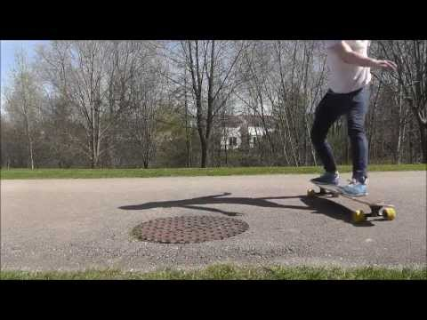 Longboarding - Flatground Fliptricks