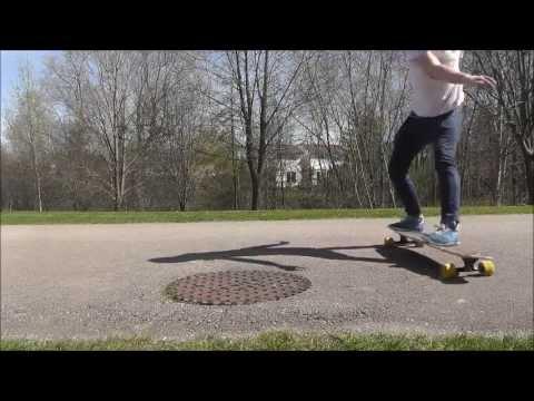 Longboarding - Flatground Fliptricks
