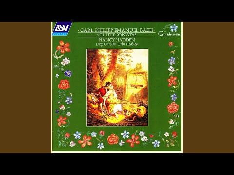 C.P.E. Bach: Sonata in E minor, H551 (Wq124) - 3rd movement: Menuet