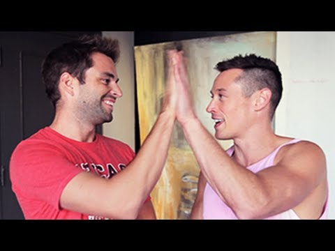 Straight Sex Vs Gay Sex W  Davey Wavey video